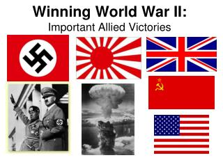 Winning World War II: Important Allied Victories