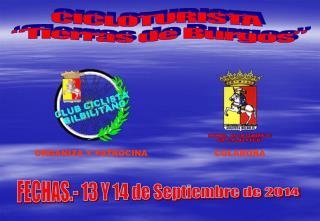 """CICLOTURISTA  """"Tierras de Burgos"""""""