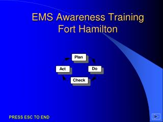 EMS Awareness Training Fort Hamilton
