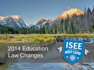 2014 Education  Law Changes