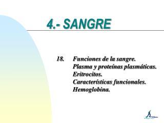 4.- SANGRE