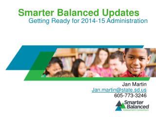 Smarter Balanced Updates