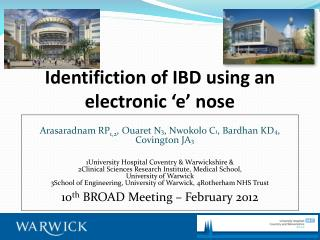 Identifiction  of IBD using an electronic 'e' nose