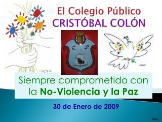 El Colegio P�blico CRIST�BAL COL�N