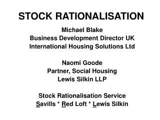 STOCK RATIONALISATION