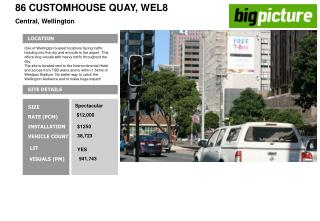 86 CUSTOMHOUSE QUAY, WEL8 Central, Wellington
