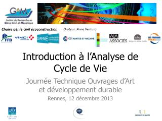 Introduction à l'Analyse de Cycle de Vie