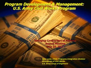Program Development & Management: U.S. Army Civil Works Program