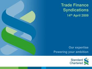 Trade Finance  Syndications