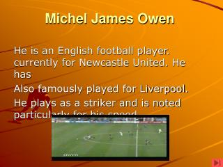 Michel James Owen