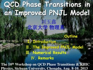 QCD Phase Transitions in an Improved PNJL Model