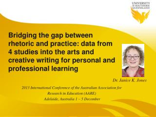 2013 International Conference of the Australian Association for  Research  in  Education (AARE)