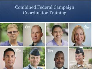 Combined Federal Campaign  Coordinator Training