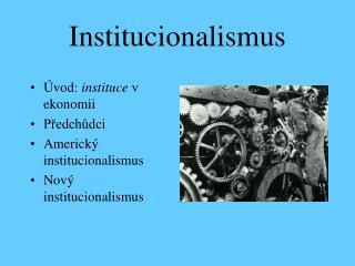 Institucionalismus