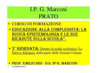 I.P. G. Marconi PRATO