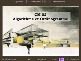 CM 02 Algorithme et Ordinogramme