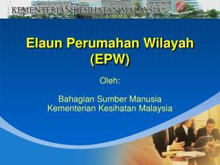 Elaun Perumahan Wilayah EPW