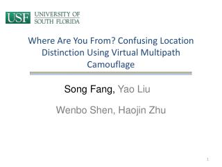 Where Are You From? Confusing Location Distinction Using Virtual Multipath Camouflage