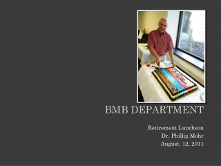 BMB dEpartment