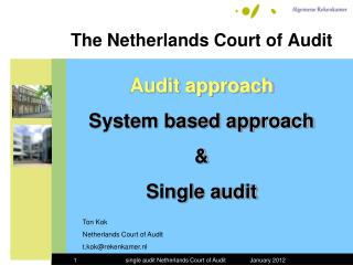The Netherlands Court of Audit