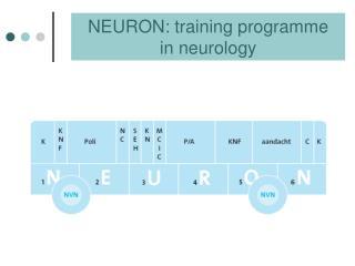 NEURON: training programme  in neurology