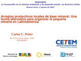 RESPOMIN La  innovación  en la mineria artesanal y de  pequeña  escala  en America Latina