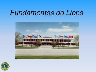 Fundamentos do Lions