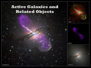 Active Galaxies and Related Objects