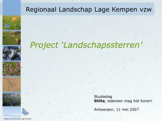 Regionaal Landschap Lage Kempen vzw