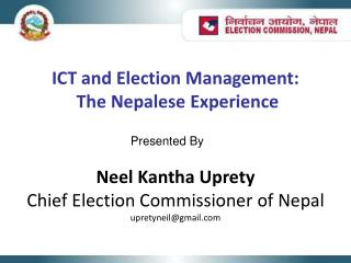 ICT and Election Management:  The Nepalese Experience