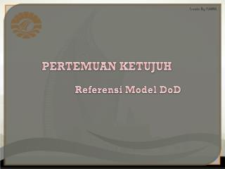 Referensi  Model  DoD