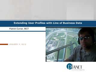 Extending  User Profiles with Line of Business Data