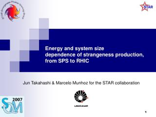 Energy and system size dependence of strangeness production,  from SPS to RHIC