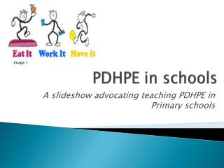 PDHPE in schools