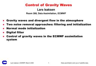 Control of Gravity Waves