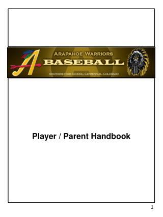 Player / Parent Handbook