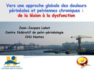 Jean-Jacques Labat Centre fédératif de pelvi-périnéologie CHU Nantes