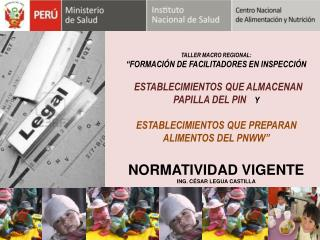 """TALLER MACRO REGIONAL:  """"FORMACIÓN DE FACILITADORES EN INSPECCIÓN"""