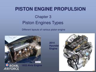 Piston Engines Types