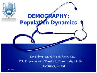 DEMOGRAPHY: Population Dynamics