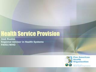 Health Service Provision