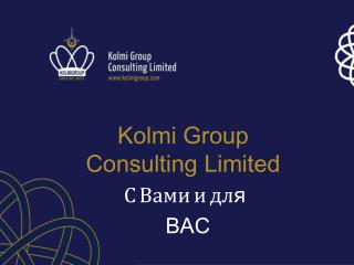 Kolmi Group  Consulting Limited