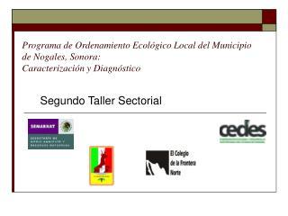 Segundo Taller Sectorial