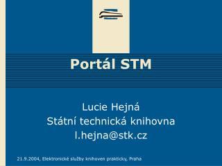 Portál STM
