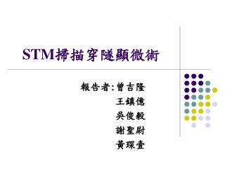STM 掃描穿隧顯微術
