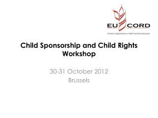 Child  Sponsorship  and Child  Rights  Workshop