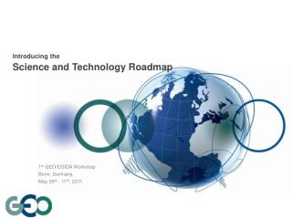 Introducing the Science and Technology Roadmap