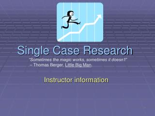 Single Case Research