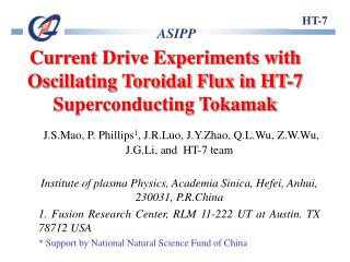 Current Drive Experiments with Oscillating Toroidal Flux in HT-7 Superconducting Tokamak