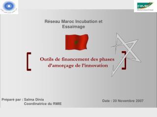 Outils de financement des phases  d'amorçage de l'innovation